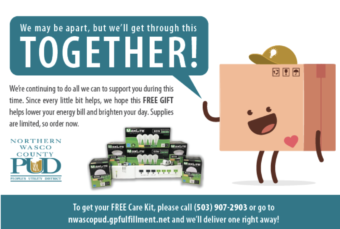 NWPUD Ad for Energy Care Kits